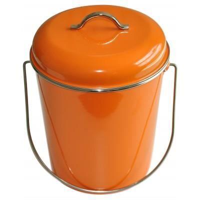 poubelle orange 6 litres waterquest achat vente. Black Bedroom Furniture Sets. Home Design Ideas