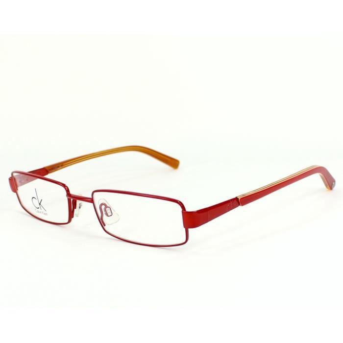 lunettes de vue ck calvin klein ck5148 170 rouge rouge achat vente lunettes de vue lunettes. Black Bedroom Furniture Sets. Home Design Ideas