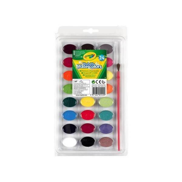 Crayola 53 0524 palette de peinture lavable achat for Peinture palette