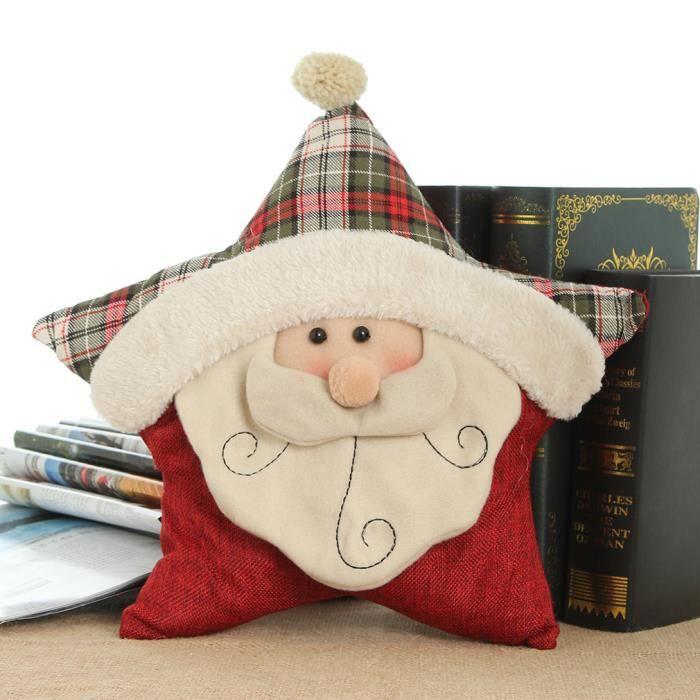 Eozy no l oreiller poup e d corations de no l le p re no l - Vente de cadeaux de noel ...