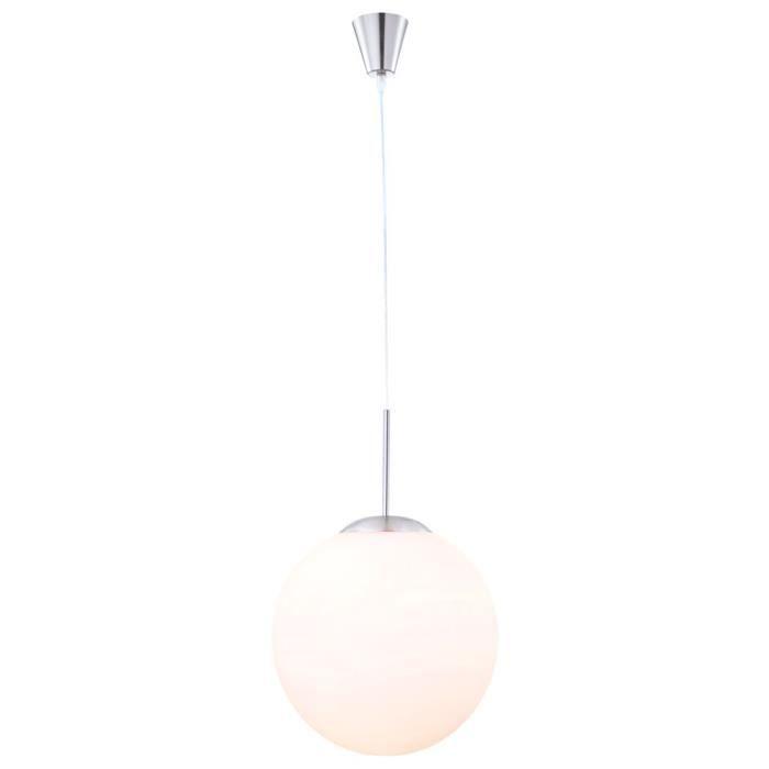 Suspension luminaire plafonnier salle de s jour verre for Suspension luminaire boule
