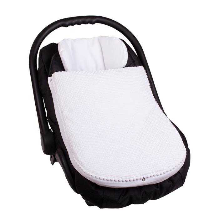 chanceli re printemps pour la poussette ou si ge auto coque blanc achat vente chanceli re. Black Bedroom Furniture Sets. Home Design Ideas