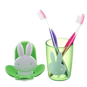 Brosse lapin achat vente brosse lapin pas cher cdiscount for Porte brosse a dent mural