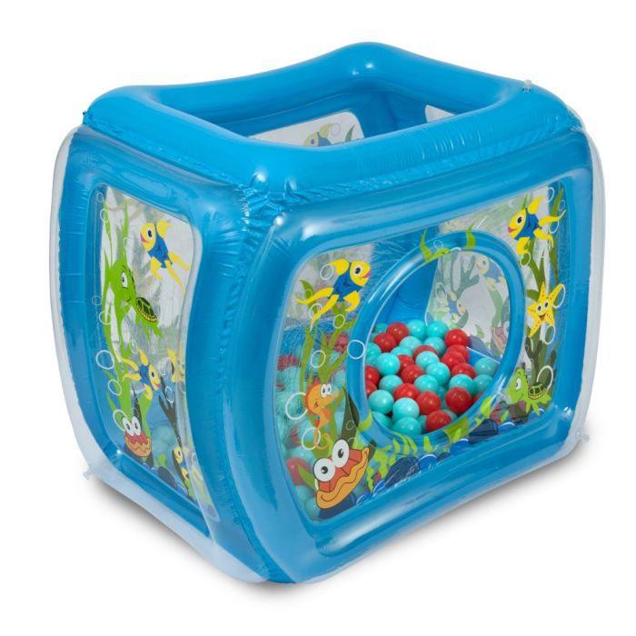 Jbm piscine balles oc an bleu achat vente tapis for Piscine de balle pour bebe