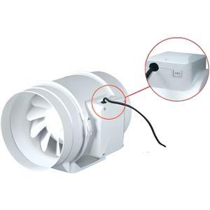 extracteur d air 125mm achat vente extracteur d air 125mm pas cher cdiscount. Black Bedroom Furniture Sets. Home Design Ideas