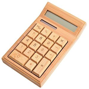CALCULATRICE EOF Eco friendly-Handcrafted Nature Power Calculat