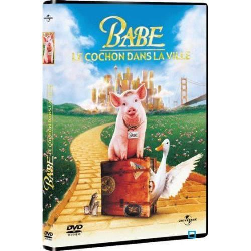 Dvd babe 2 le cochon dans la ville en dvd film pas cher elizabeth daily james cromwell magda - Papa cochon a la piscine ...