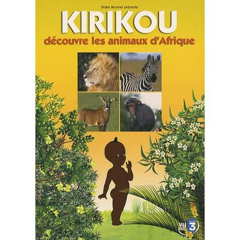 dvd mangas animation kirikou et les animaux d afrique f