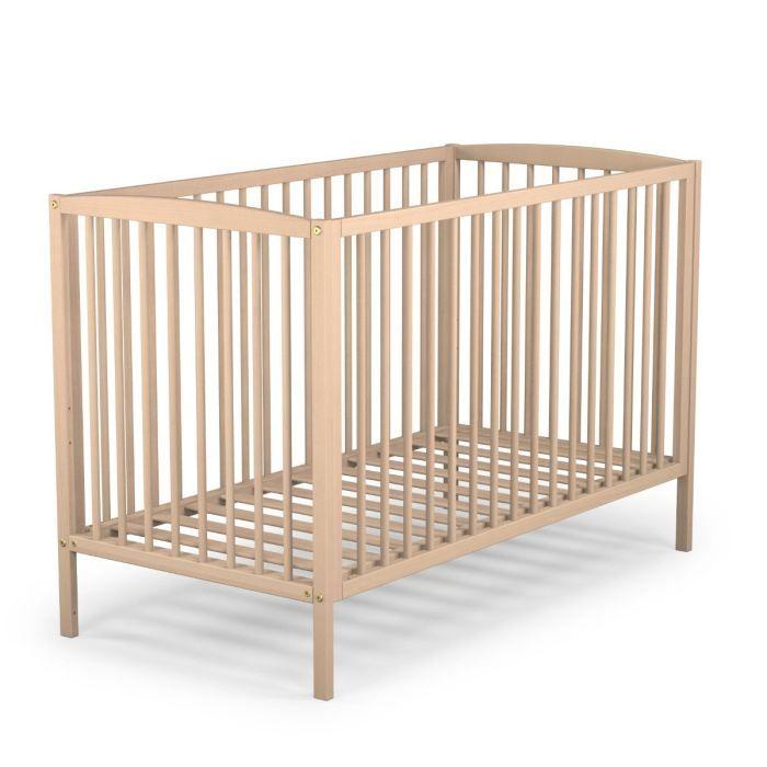 lit bebe en bois. Black Bedroom Furniture Sets. Home Design Ideas