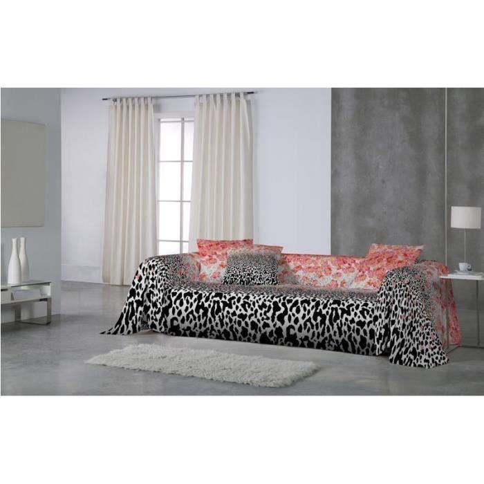 euromoda jet de canap couvre lita bagheera 180x260 achat vente jet e de lit boutis. Black Bedroom Furniture Sets. Home Design Ideas