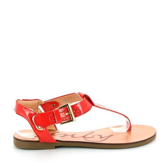 Nu pieds entredoigt vernis rou achat vente nu pieds entredoigt verni rouge pas - Pied vernis rouge ...