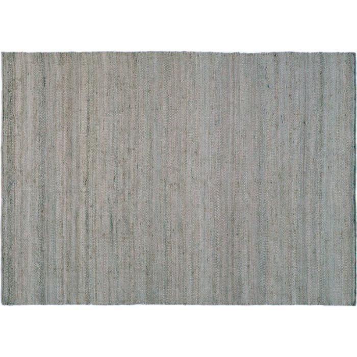 tapis jute mats gris bleu 140x200 toulemonde bochart achat vente tapis soldes cdiscount. Black Bedroom Furniture Sets. Home Design Ideas
