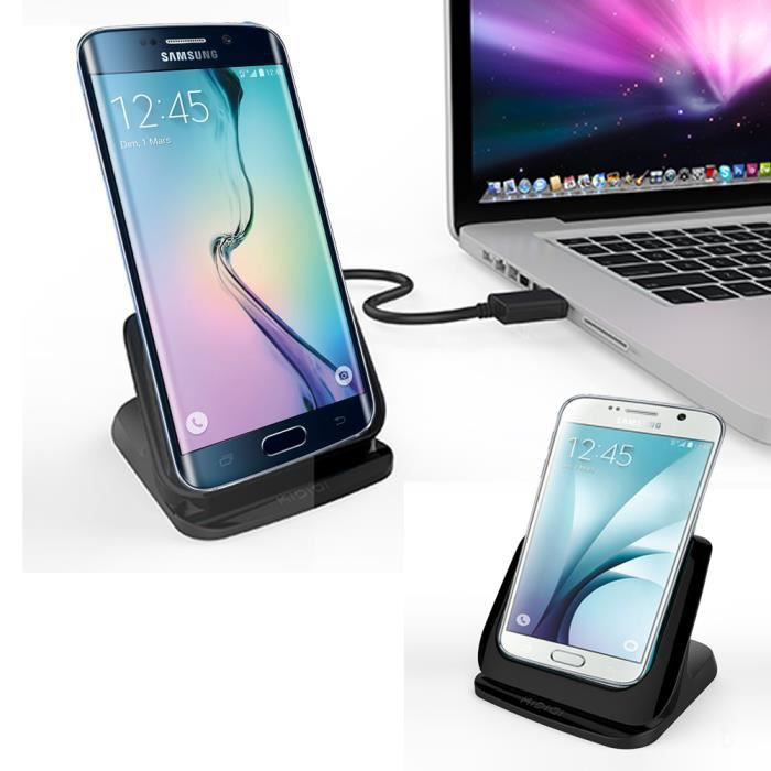 dock chargeur samsung galaxy s6 edge station d 39 accueil. Black Bedroom Furniture Sets. Home Design Ideas