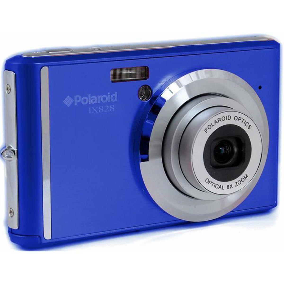 apn 20 mpx polaroid ix828 bleu achat vente appareil photo compact cdiscount. Black Bedroom Furniture Sets. Home Design Ideas