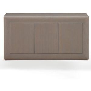 bahut gris cendre achat vente bahut gris cendre pas cher cdiscount. Black Bedroom Furniture Sets. Home Design Ideas