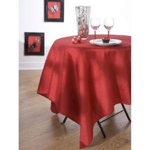 nappe en tissus carre achat vente nappe en tissus carre pas cher cdiscount. Black Bedroom Furniture Sets. Home Design Ideas