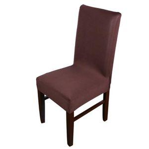 Housse de chaises salle a manger achat vente housse de for Housse chaise salle a manger