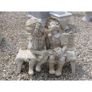 banc de jardin en pierre achat vente banc de jardin en pierre pas cher soldes cdiscount. Black Bedroom Furniture Sets. Home Design Ideas