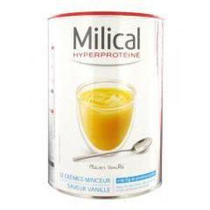 DESSERT MINCEUR Milical 12 Crèmes Minceur Hyperprotéinées - Saveur