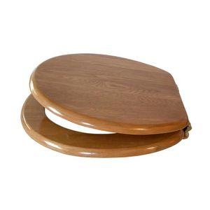 abattant wc bois achat vente abattant wc bois pas cher cdiscount. Black Bedroom Furniture Sets. Home Design Ideas