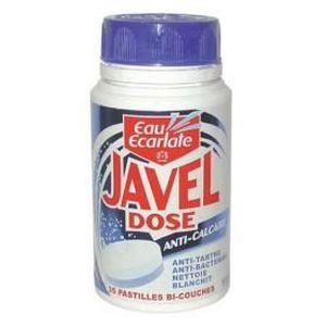 Javel dose anti calcaire x35 achat vente eau de for Mousse eau de javel