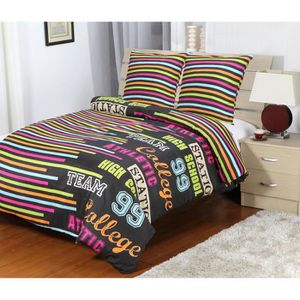couette de lit 2 personnes achat vente couette de lit 2 personnes pas cher cdiscount. Black Bedroom Furniture Sets. Home Design Ideas