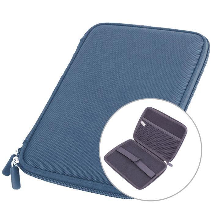 etui coque rigide en bleu pour tablettes 7 pouces prix. Black Bedroom Furniture Sets. Home Design Ideas