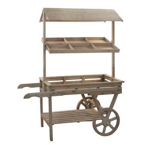 Meuble Etagere Chariot 170x134 cm - Achat / Vente meuble ...