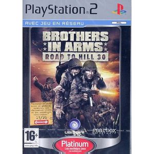JEU PS2 BROTHERS IN ARMS : Road to hill 30