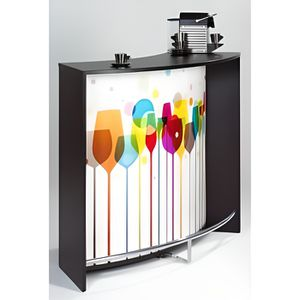 meuble cuisine haut en verre achat vente meuble cuisine haut en verre pas cher cdiscount. Black Bedroom Furniture Sets. Home Design Ideas