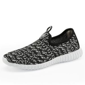 BASKET Baskets-Mode Homme Yeezy Respirant Chaussures d...