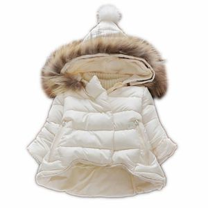 DOUDOUNE Bébé fille hiver coton manteau blanc