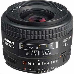 OBJECTIF Objectif Nikon Grand Angle AF Nikkor 35mm f/2.0D A