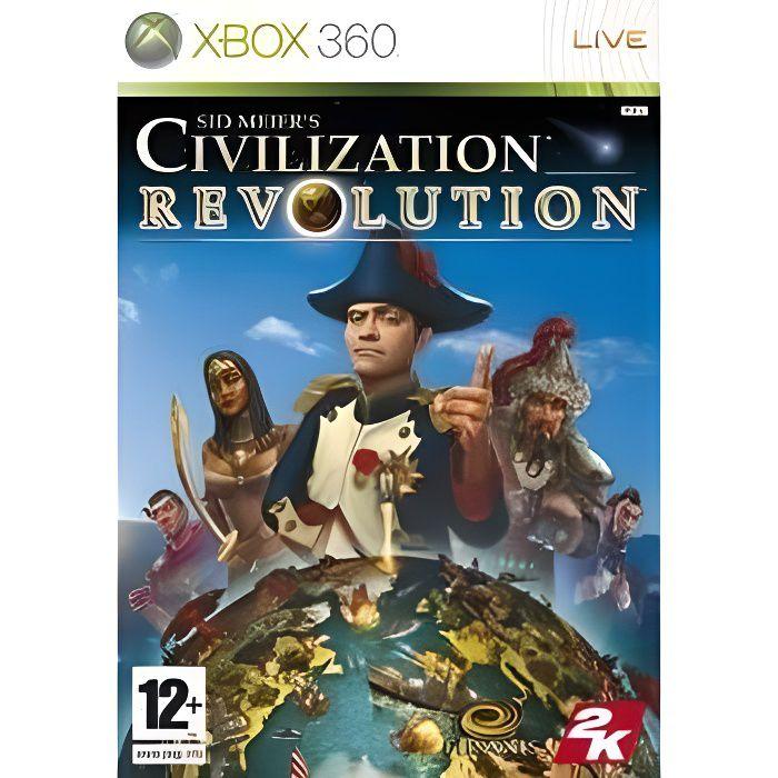 JEUX XBOX 360 CIVILIZATION REVOLUTIONS / JEU CONSOLE XBOX 360