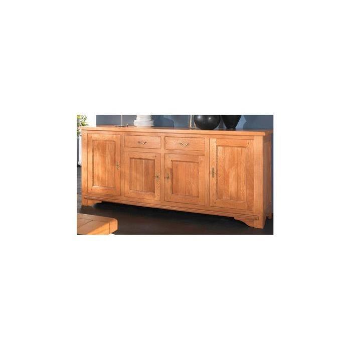 enfilade 4 portes bois massif cahors achat vente. Black Bedroom Furniture Sets. Home Design Ideas