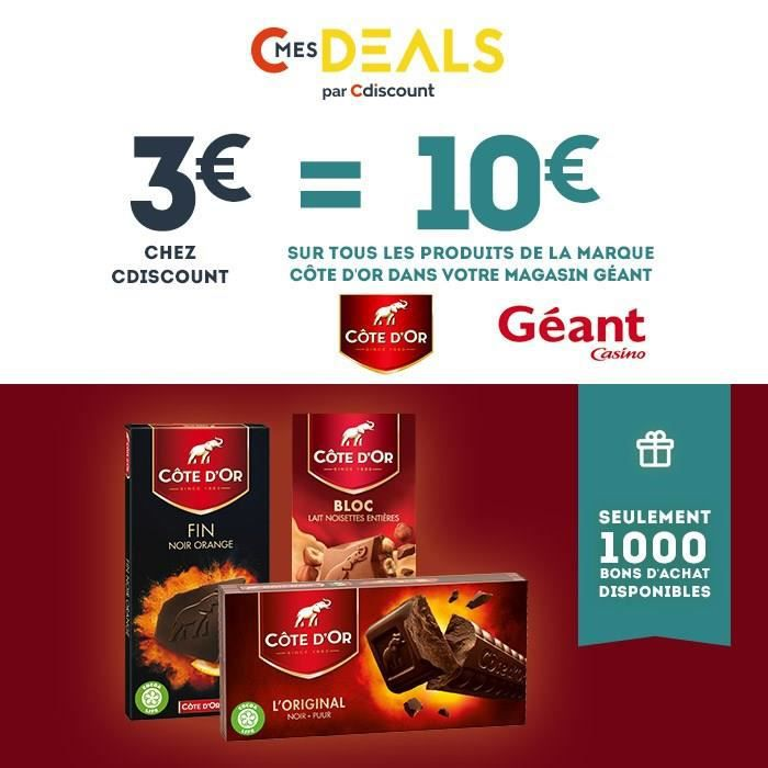 Coupons reduction cote d'or