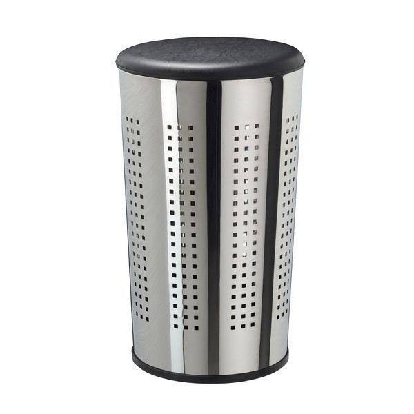 panier linge sitty panier linge avec couver achat vente panier a linge simili inox. Black Bedroom Furniture Sets. Home Design Ideas