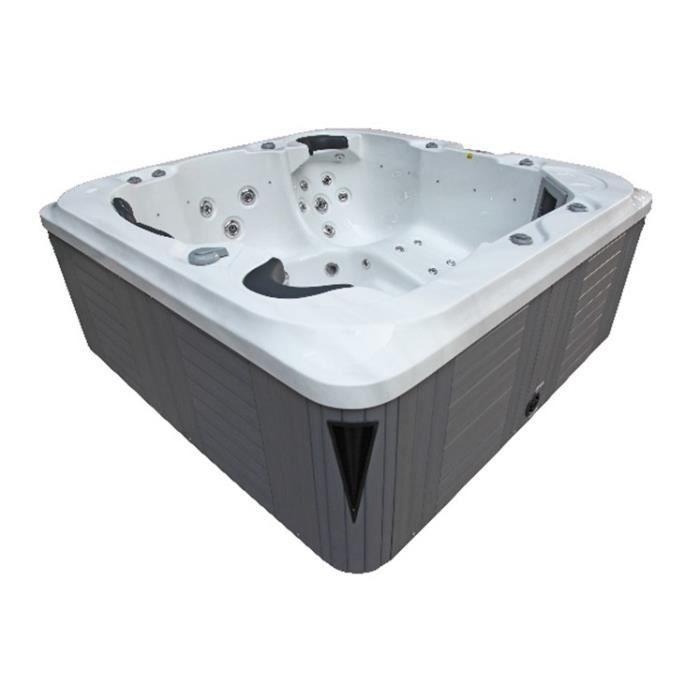 jacuzzi extrieur semienterr awesome great un spa encastrable dans votre jardin spa extrieur. Black Bedroom Furniture Sets. Home Design Ideas