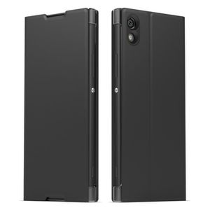 Sony Coque Style cover Stand pour Xperia XA1 Noir