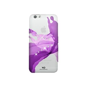 WHITE DIAMONDS PROTECTION ARRIERE ROSE HEARTBEAT IPHONE 6/6S