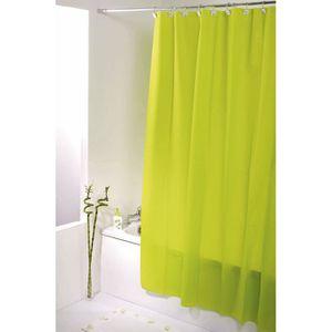 rideau de douche vert achat vente rideau de douche vert pas cher cdiscount. Black Bedroom Furniture Sets. Home Design Ideas