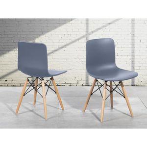 chaises de salle a manger en plastique achat vente. Black Bedroom Furniture Sets. Home Design Ideas