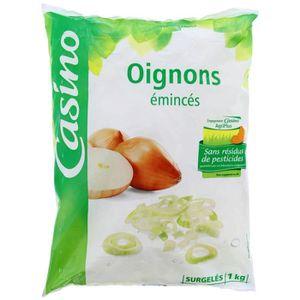 CASINO Oignons - Emincés 1kg
