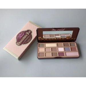 FARD À PAUPIÈRE Ombre à paupières 16 du chocolat de la palette nu