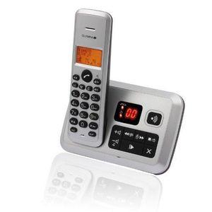 Téléphone fixe OLYMPIA CERTO ANSWER ARGENT AVEC RÉPONDEUR (VER…