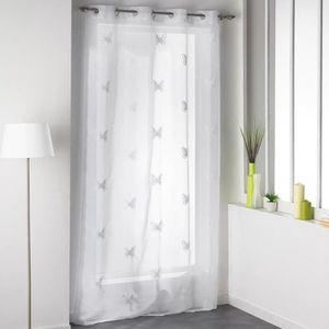 rideau plume achat vente rideau plume pas cher cdiscount. Black Bedroom Furniture Sets. Home Design Ideas
