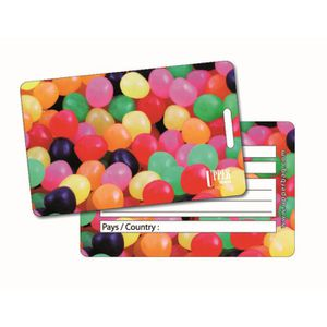 PORTE ADRESSE Etiquette Bagage Sweety Mix 1