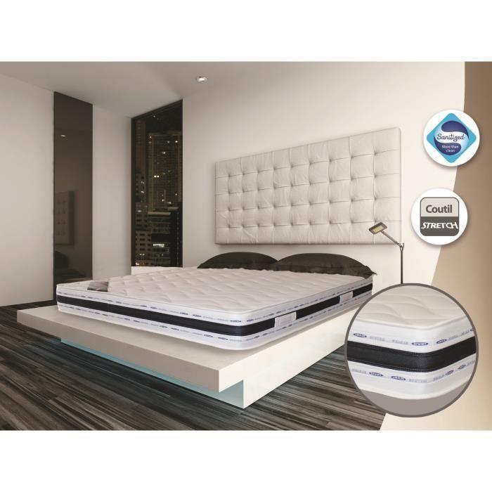 antib 80x200 m moire de forme 21cm soutien ferme achat vente matelas les soldes sur. Black Bedroom Furniture Sets. Home Design Ideas