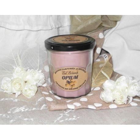 bougie parfum e artisanale opium achat vente bougeoir cadeaux de no l cdiscount. Black Bedroom Furniture Sets. Home Design Ideas