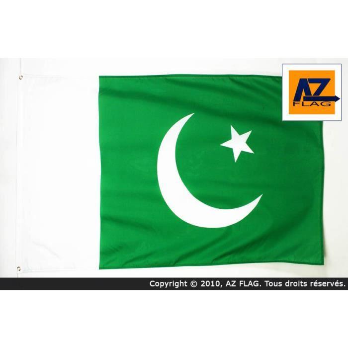 Drapeau Pakistan 90x60cm Pakistanais Haute Qu Prix